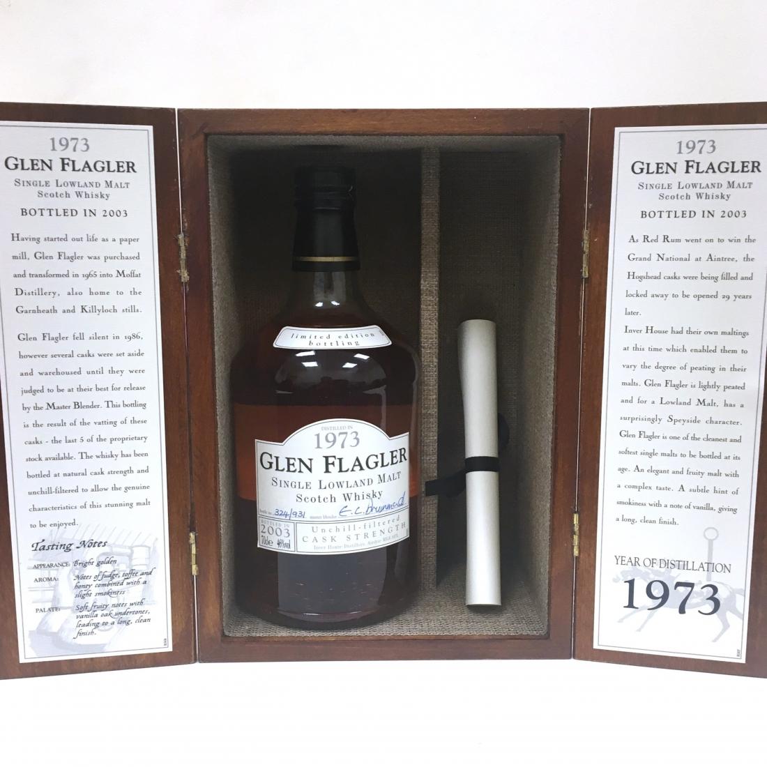 Glen Flagler 1973 30 Year Old
