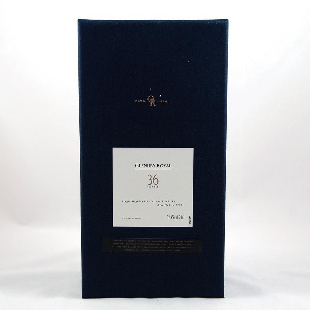 Glenury Royal 1970 36 Year Old Box