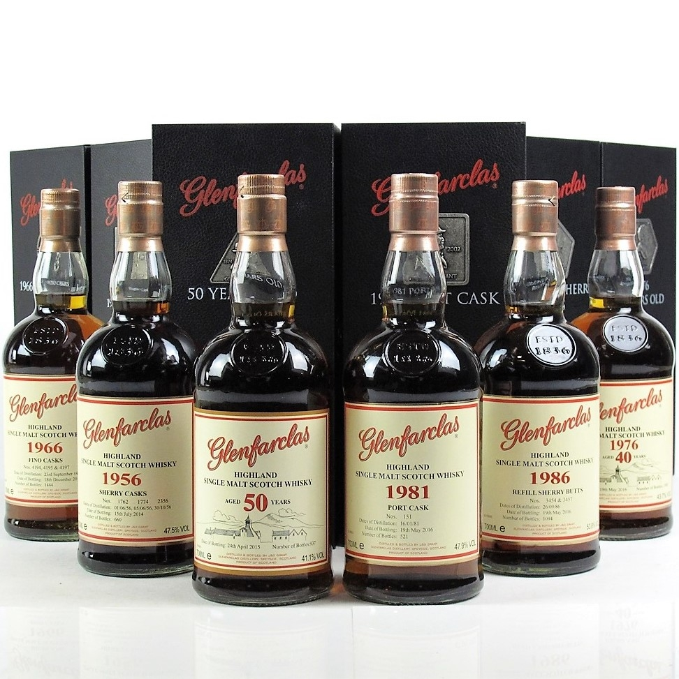 Glenfarclas Family Collector Series / 6 x 70cl