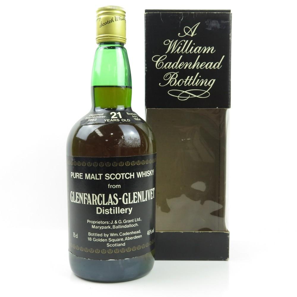 Glenfarclas 1962 Cadenhead's 21 Year Old