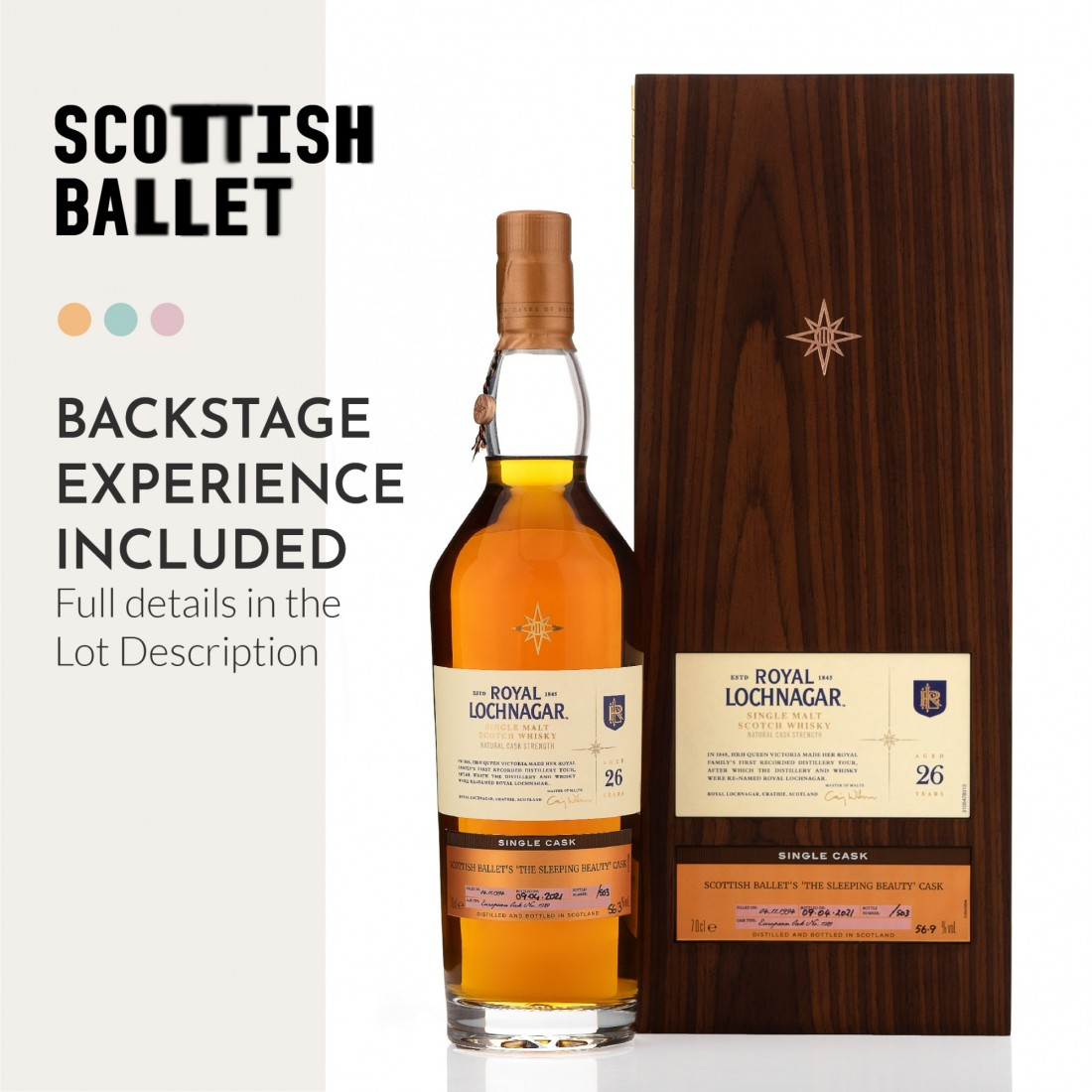 Royal Lochnagar 1994 Casks of Distinction 26 Year Old #1289 / Bottle #006