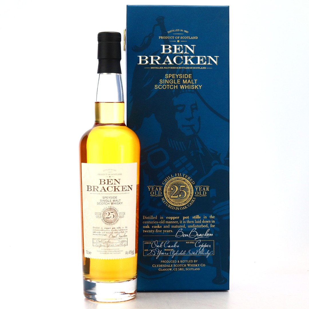 Ben Bracken 1991 25 Year Old Speyside Single Malt