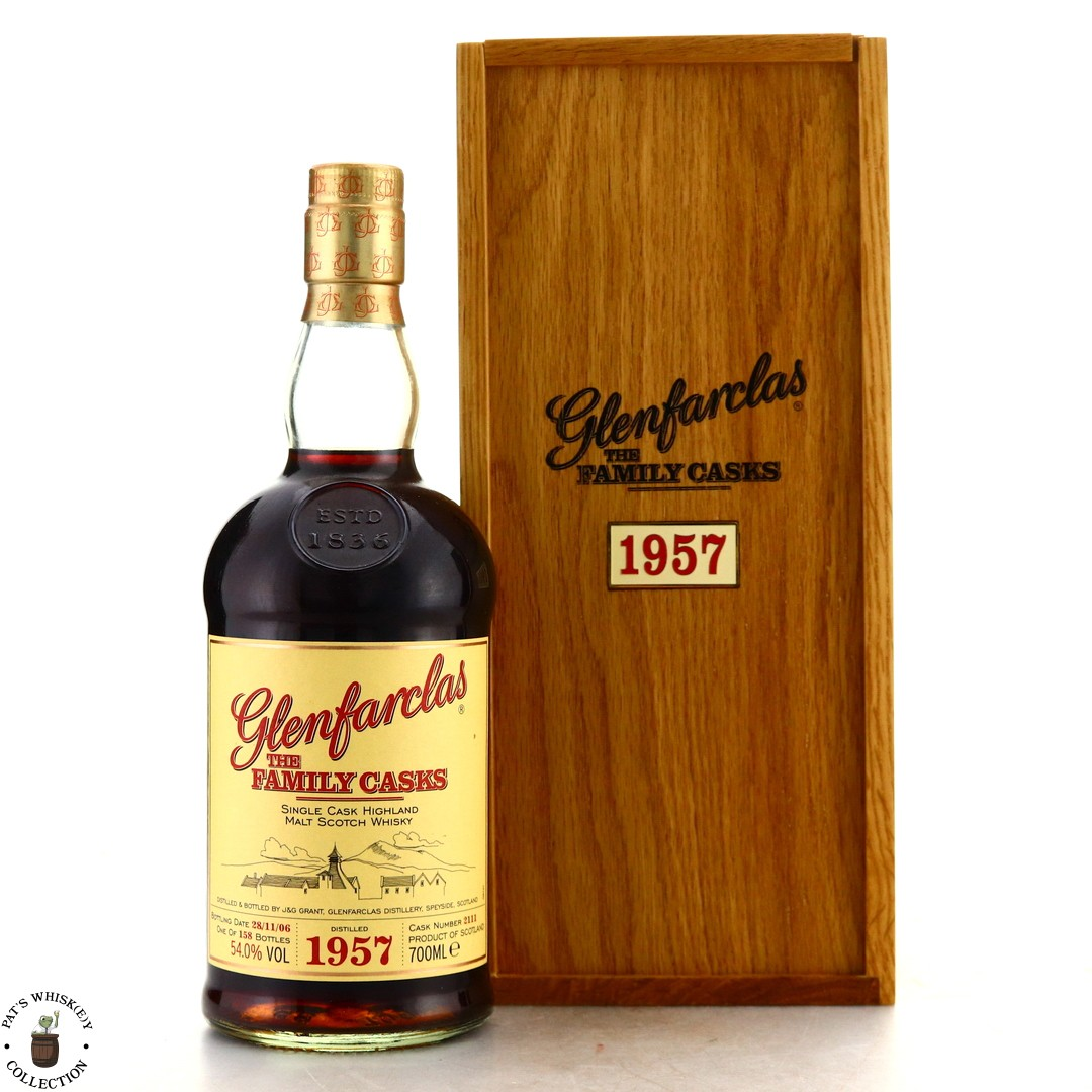 Glenfarclas 1957 Family Cask #2111 / Release I