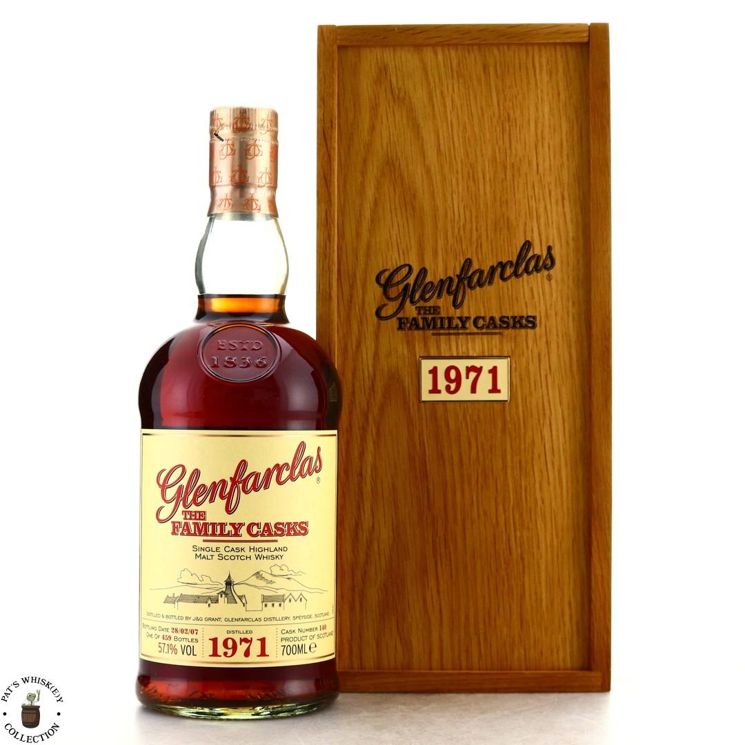 Glenfarclas 1971 Family Cask #140 / Release I
