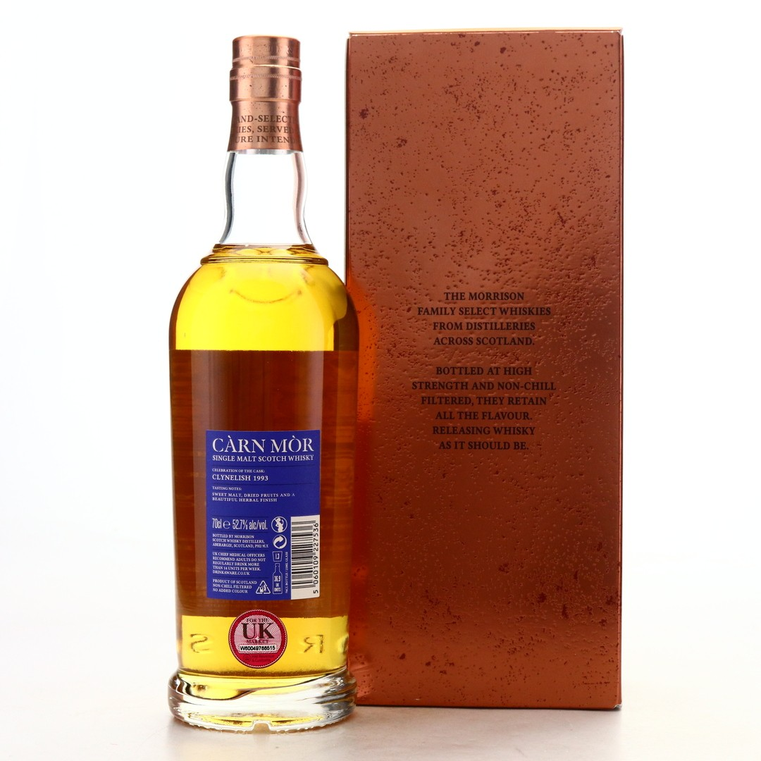 Clynelish 1993 Carn Mor 26 Year old