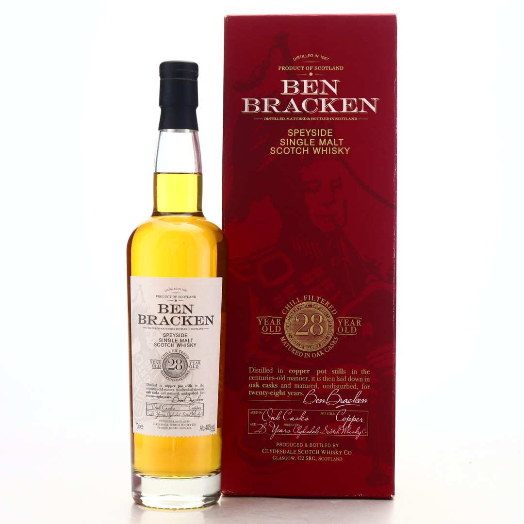 Ben Bracken 28 Year Old Speyside Single Malt