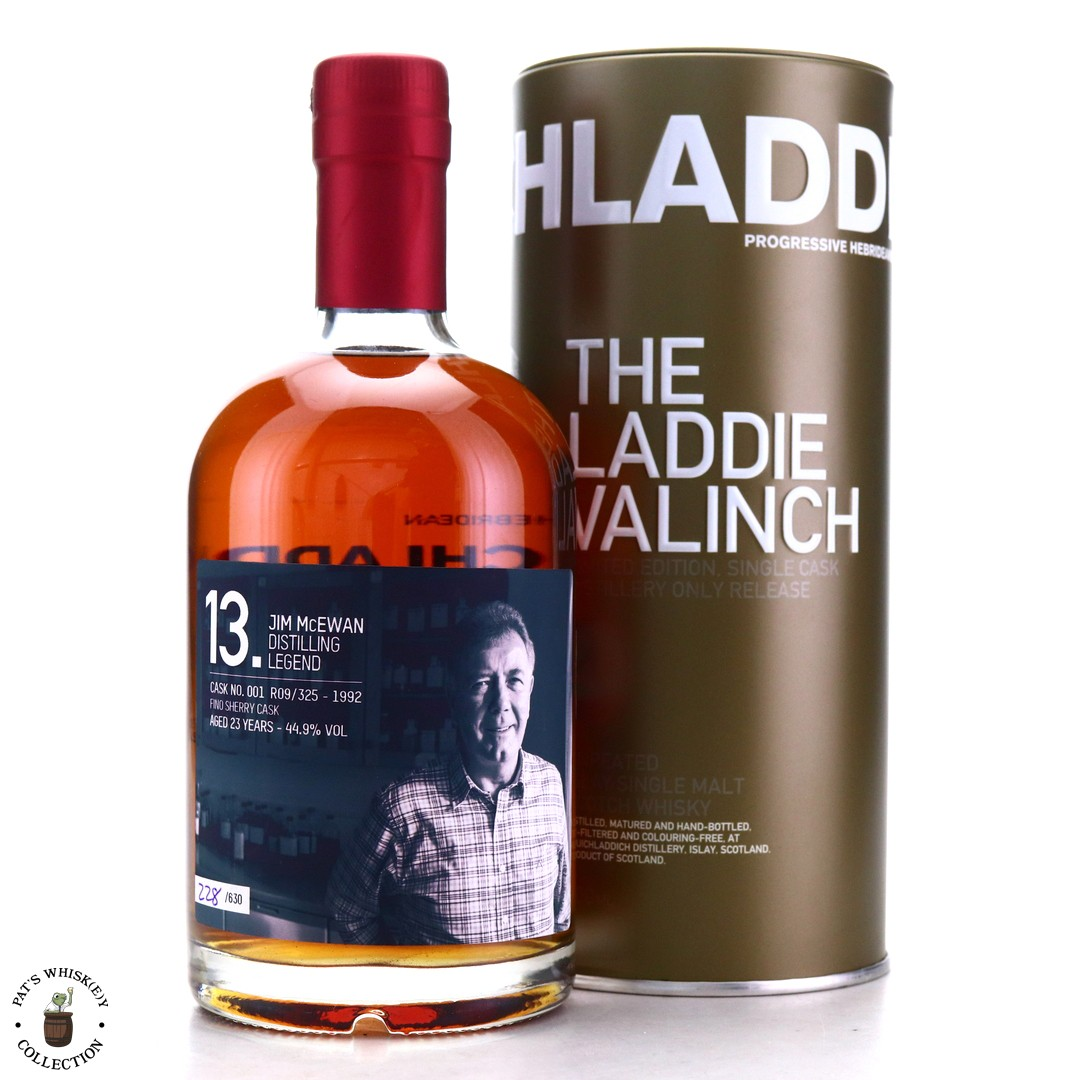 Bruichladdich 1992 Jim McEwan Valinch 23 Year Old / Fino Sherry