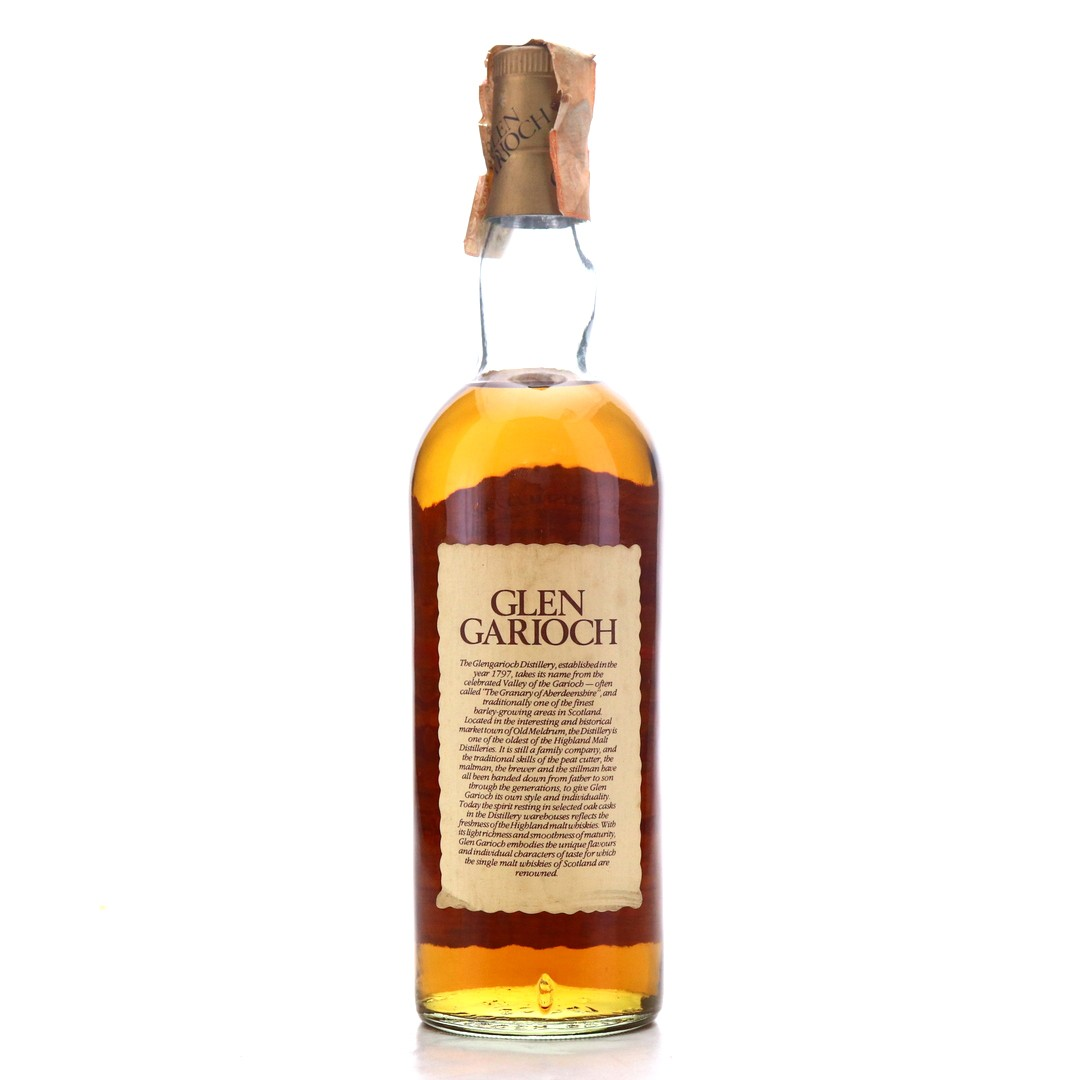 Glen Garioch 10 Year Old 1980s / Soffiantino Import