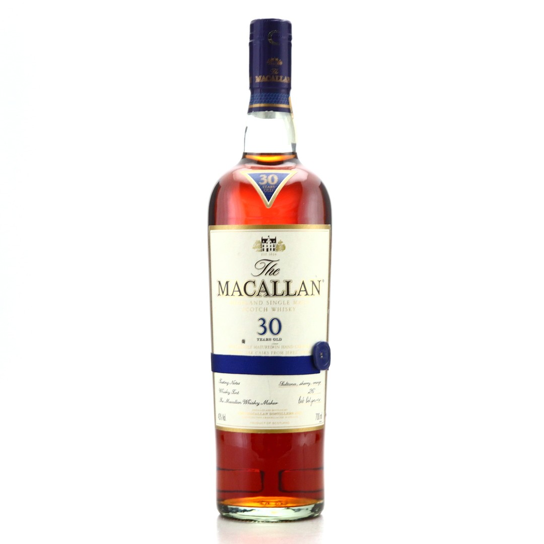 Macallan 30 Year Old Sherry Oak pre-2018