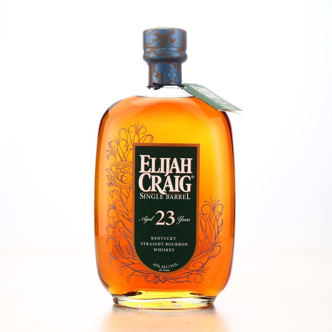 Elijah Craig 23 Year Old Single Barrel 2016