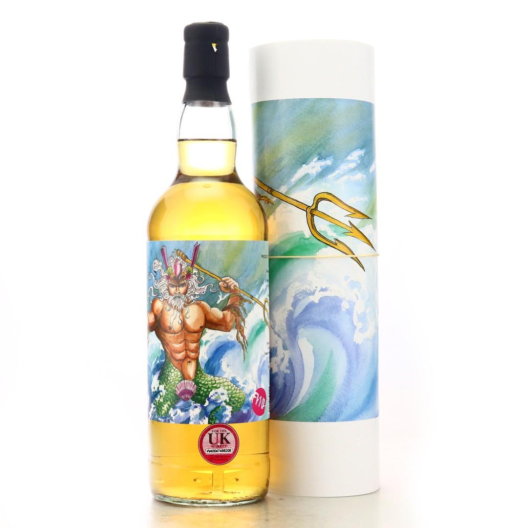 Jura 25 Year Old Platinum Cask Poseidon / The Olympians - Includes Print