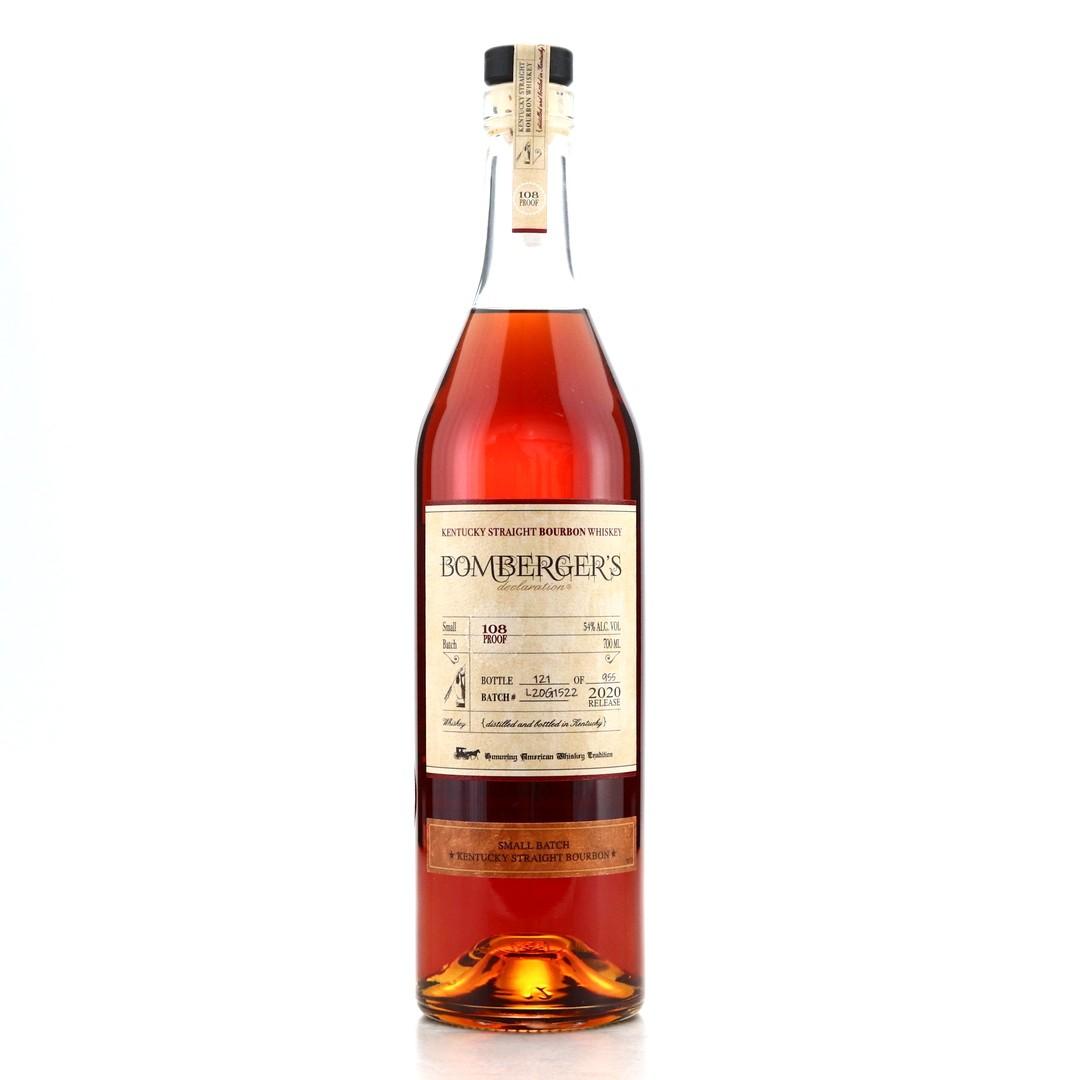 Bomberger's Declaration Kentucky Straight Bourbon 2020 70cl