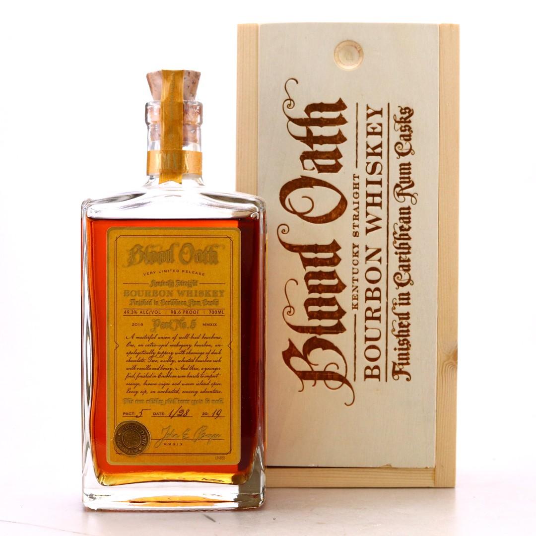 Blood Oath Kentucky Straight Bourbon 2019 70cl / Pact No.5