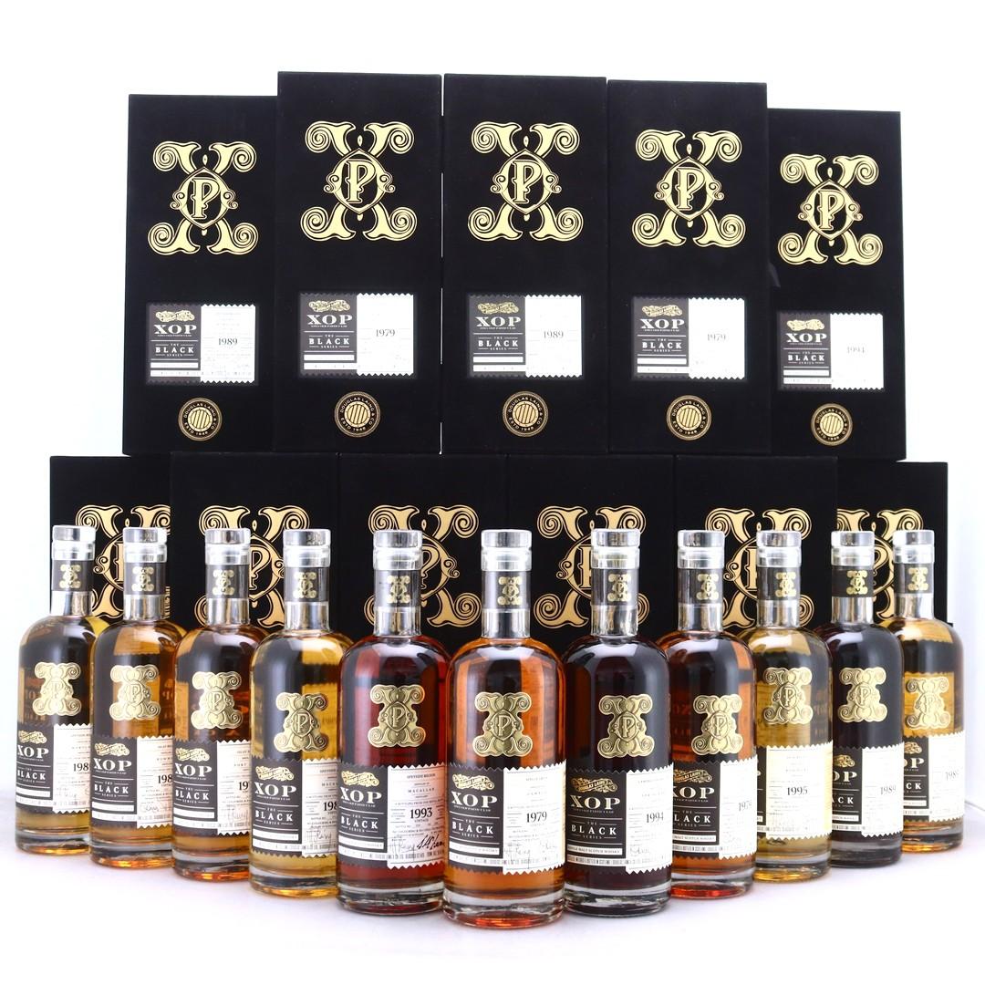 Douglas Laing XOP Black Series 11 x 70cl