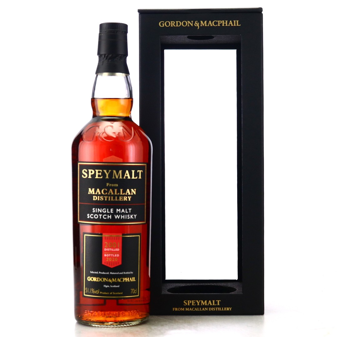 Macallan 2001 Gordon and MacPhail Speymalt