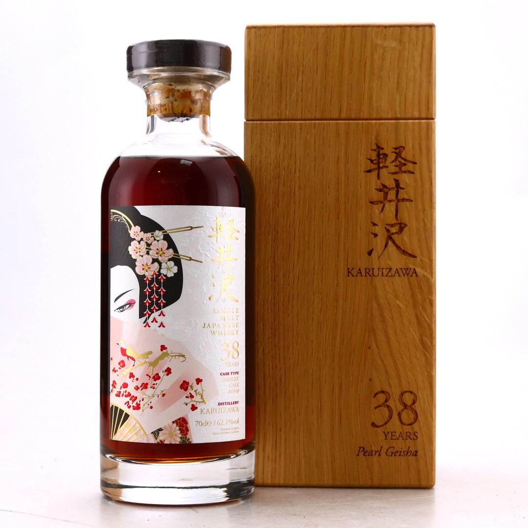 Karuizawa 38 Year Old Single Sherry Cask #4348 / Pearl Geisha
