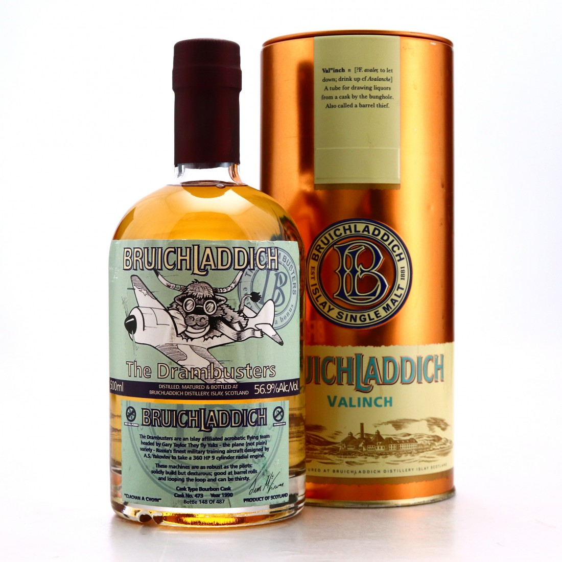 Bruichladdich 1990 Valinch 'The Drambusters'