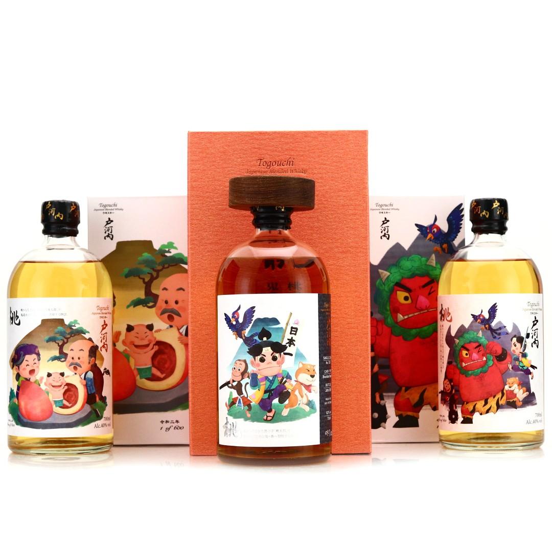 Togouchi Momotaro Limited Edition Set 3 x 70cl