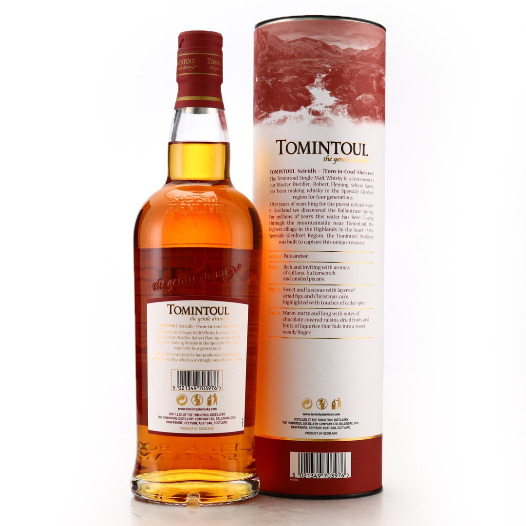 Tomintoul Seiridh Oloroso Sherry Cask Limited Edition