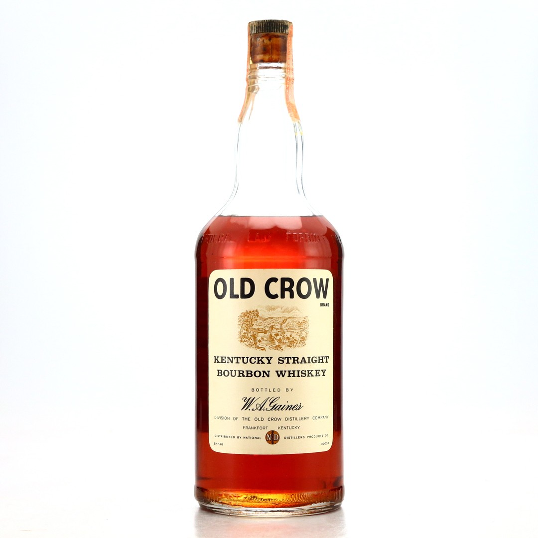 Old Crow 4 Year Old Kentucky Straight Bourbon 1961