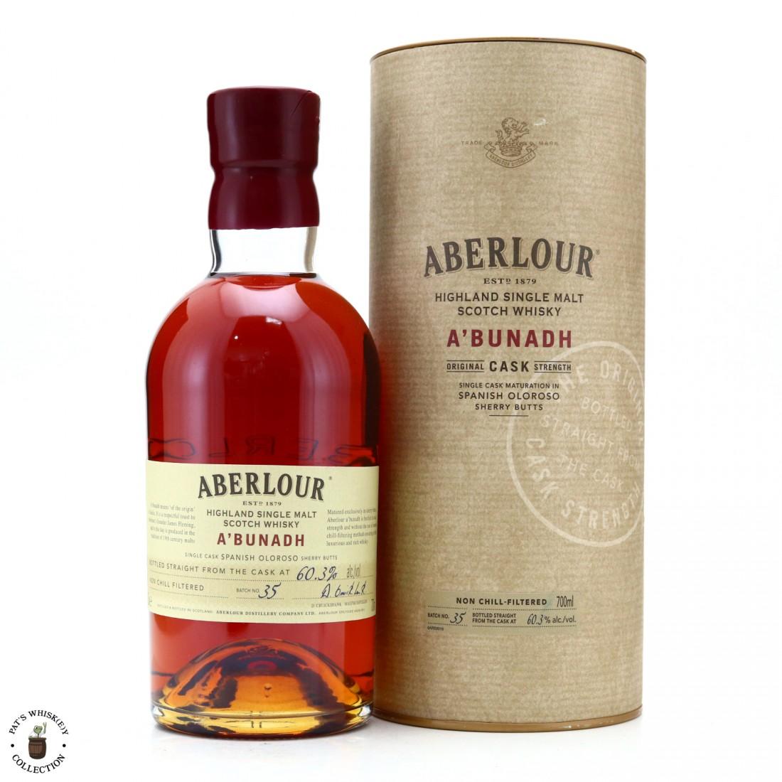 Aberlour A'Bunadh Batch #35