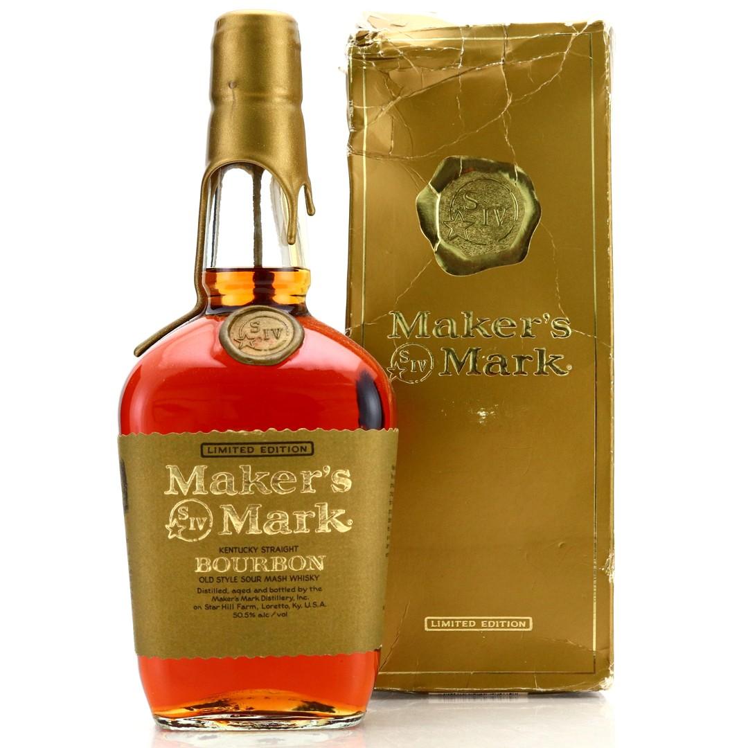Maker's Mark Gold Label Label Kentucky Straight Bourbon