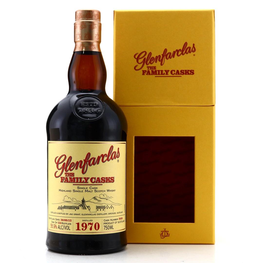 Glenfarclas 1970 Family Cask #2030 75cl / US Import