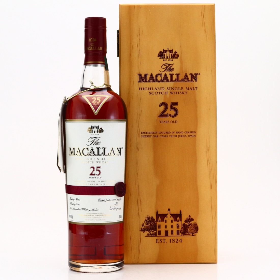 Macallan 25 Year Old pre-2018
