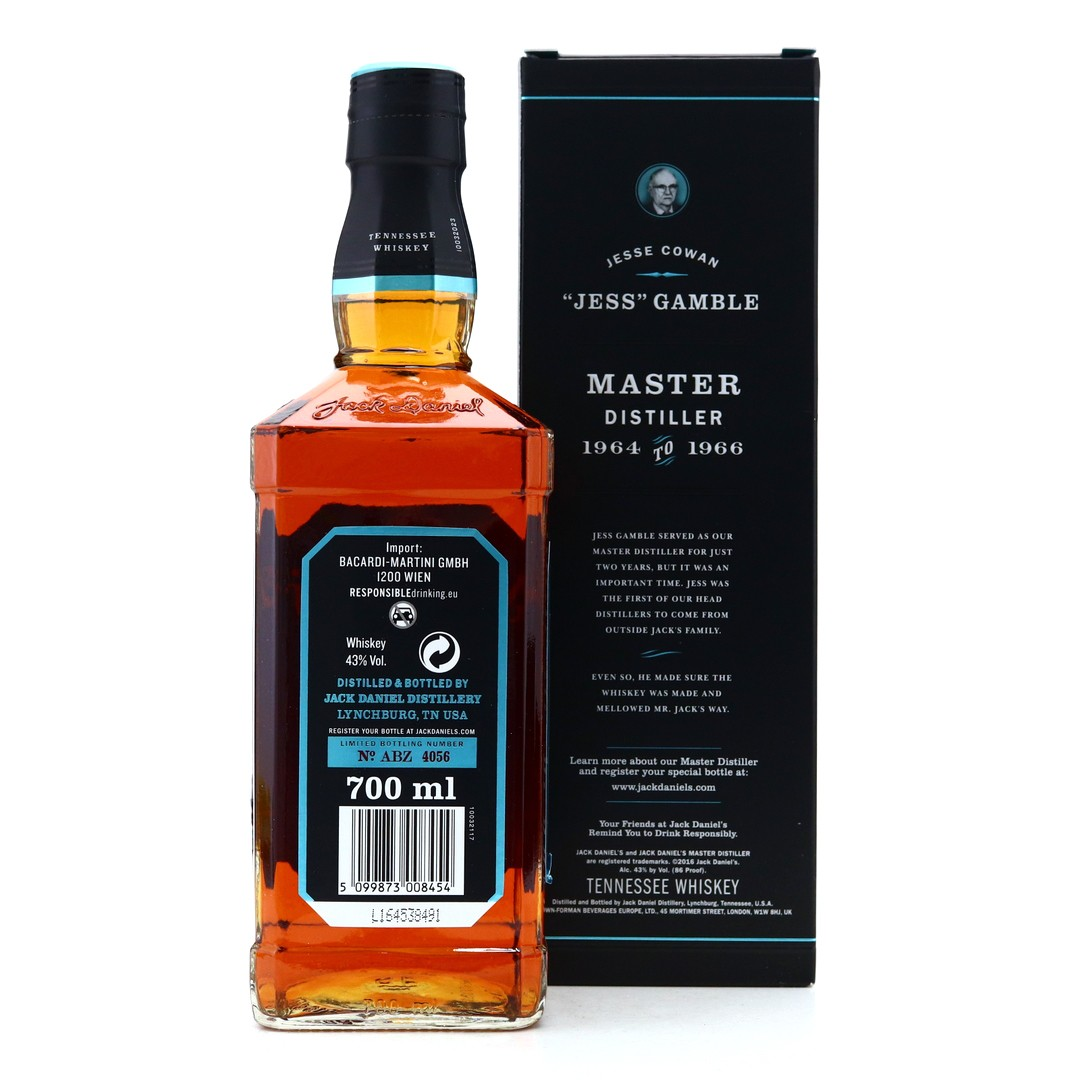 Jack Daniel's Master Distiller No.4 / Jess Gamble