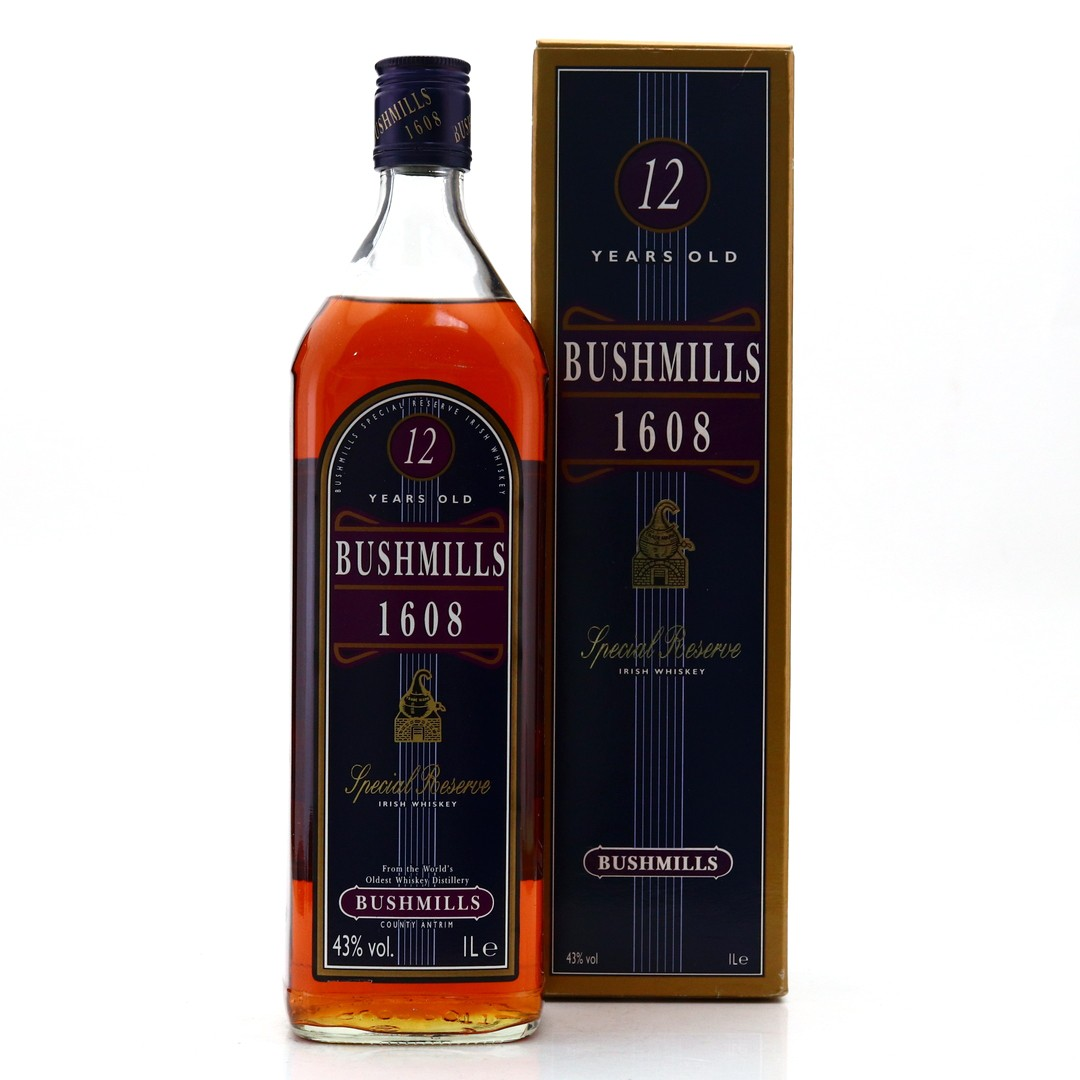 Bushmills '1608' Special Reserve 12 Year Old 1 Litre