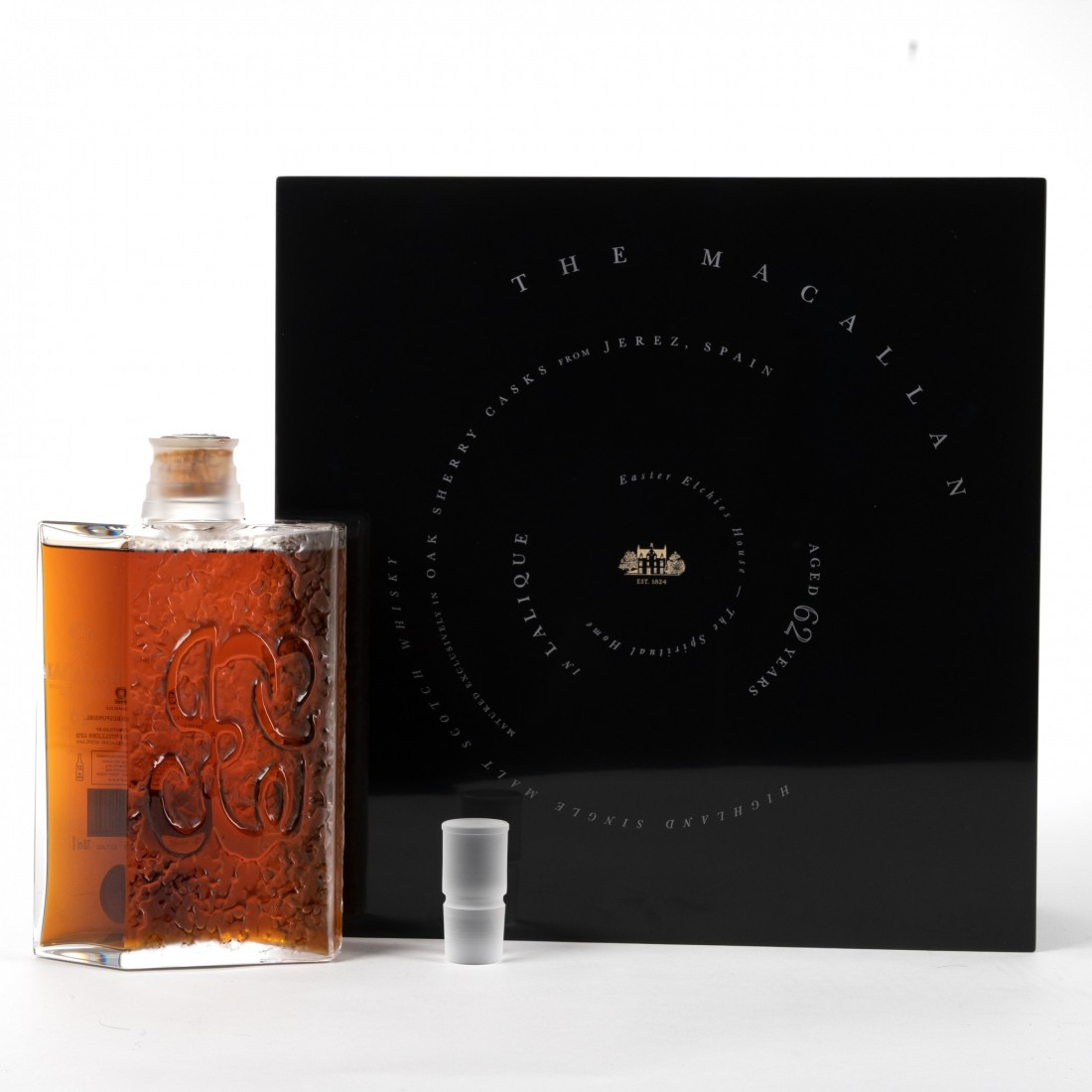 Macallan 62 Year Old Lalique Six Pillars Collection No.5
