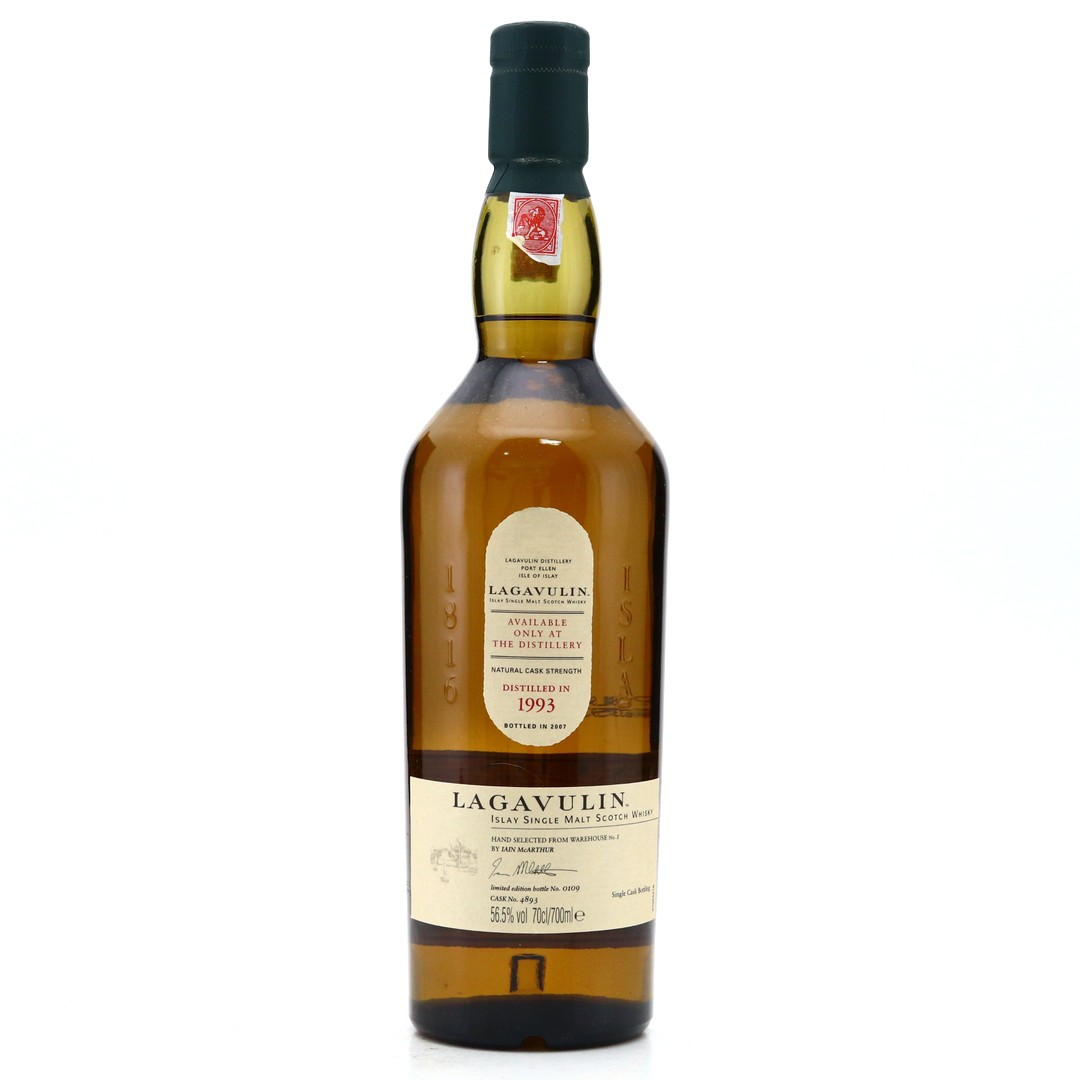 Lagavulin 1993 Single Cask #4893 / Feis Ile 2007