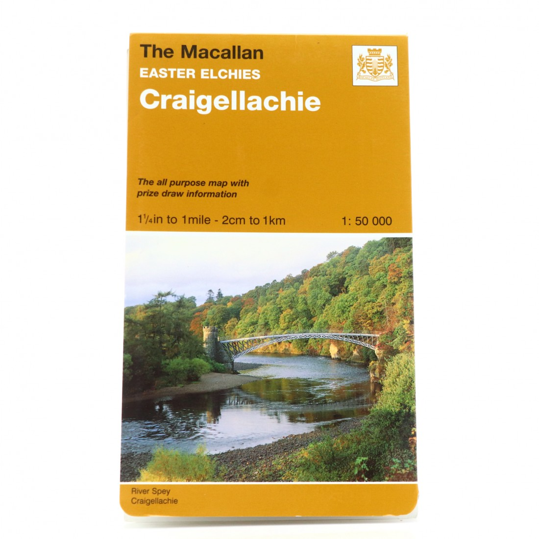 Macallan Craigellachie Ordnance Survey Map
