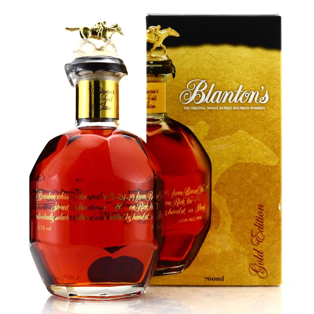 Blanton's Single Barrel Gold Edition dumped 2017