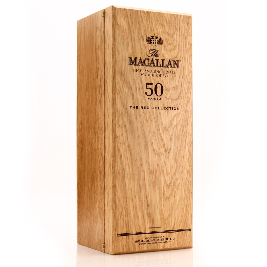 *Remove bottle numbers on all pics please Macallan 71 Year Old The Red CollectionMacallan 50 Year Old The Red Collection