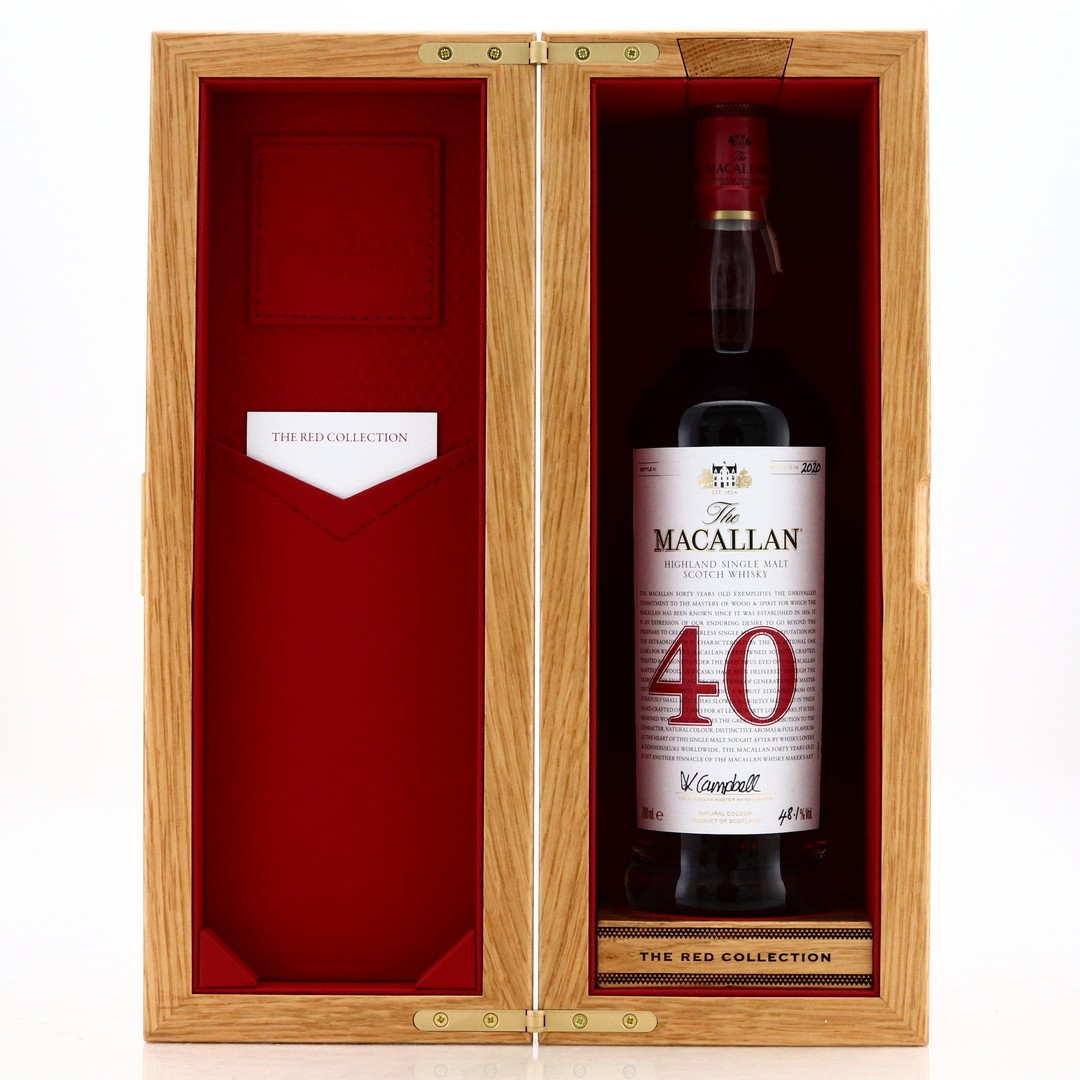 Macallan 40 Year Old The Red Collection