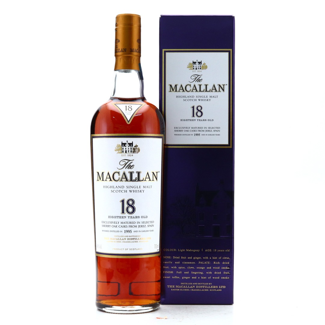 Macallan 1995 18 Year Old