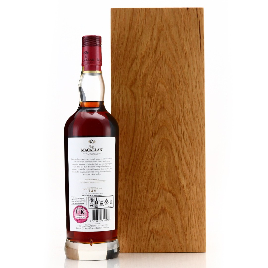 Macallan 50 Year Old The Red Collection