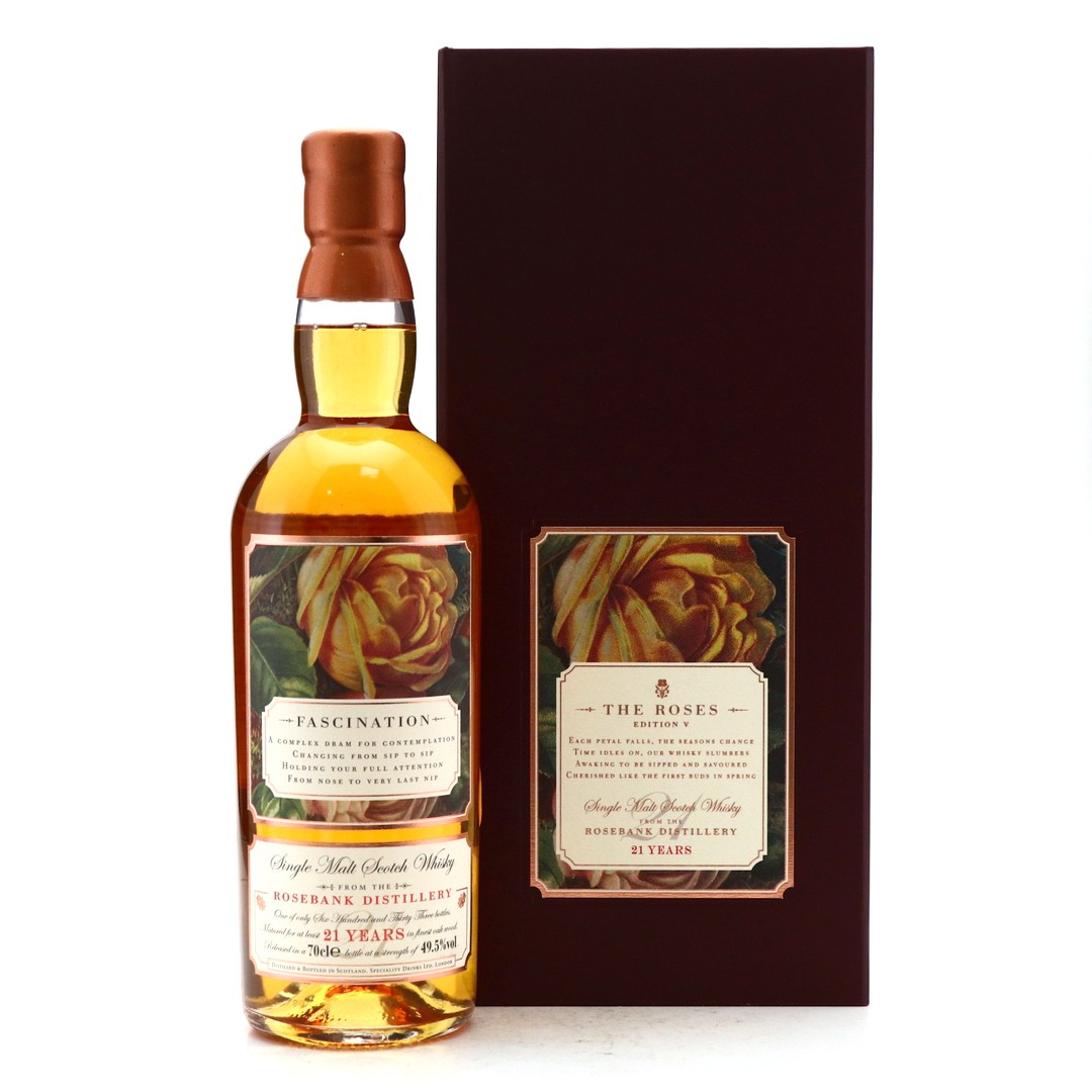 Rosebank 21 Year Old Speciality Drinks / The Roses Edition #5 'Fascination'