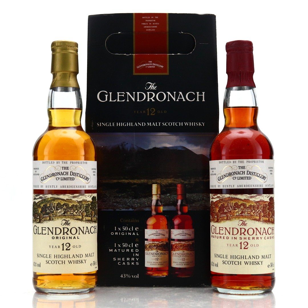 Glendronach 12 Year Old 2 x 50cl 1990s