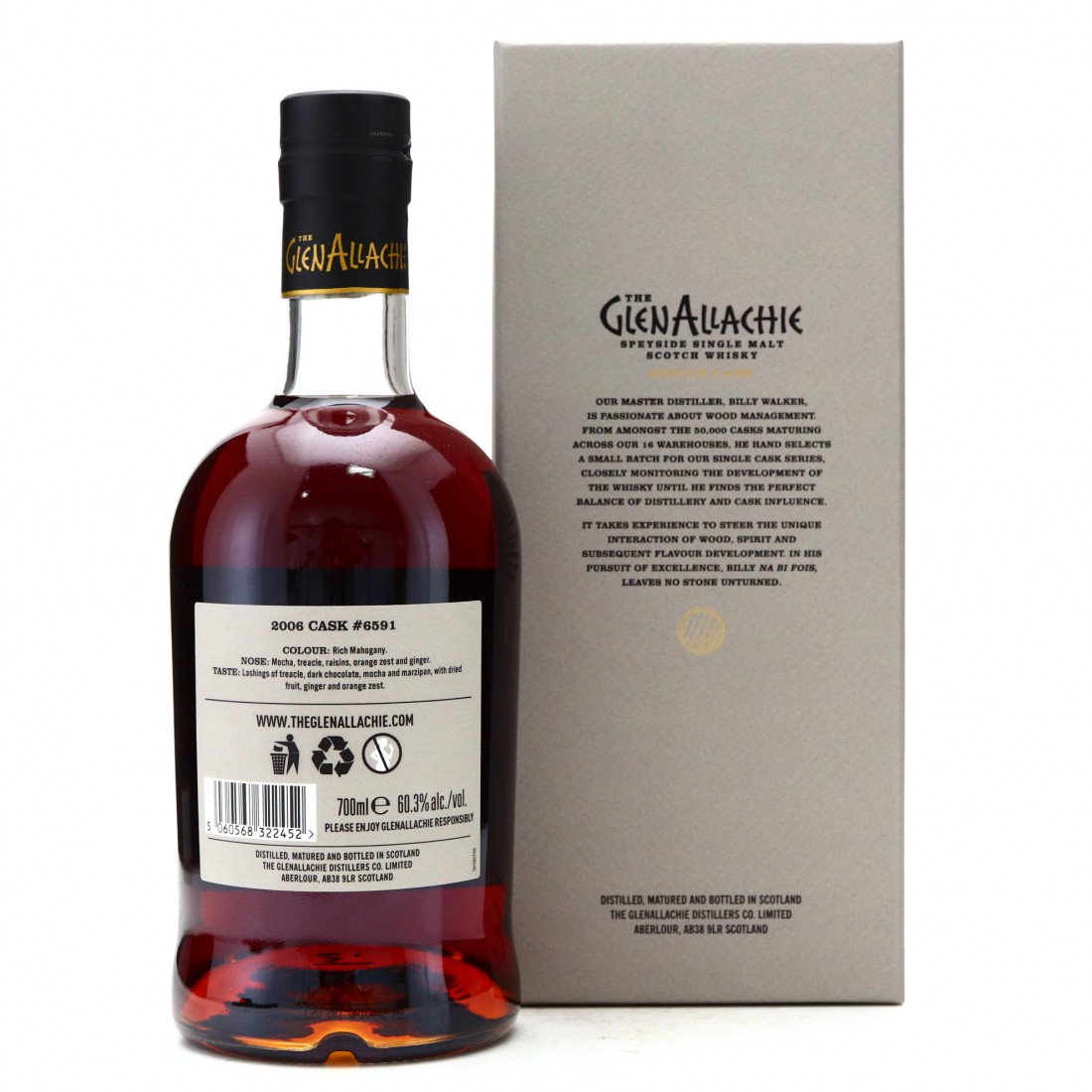 Glenallachie 2006 Single PX Cask 14 Year Old #6591 / Belgium Exclusive