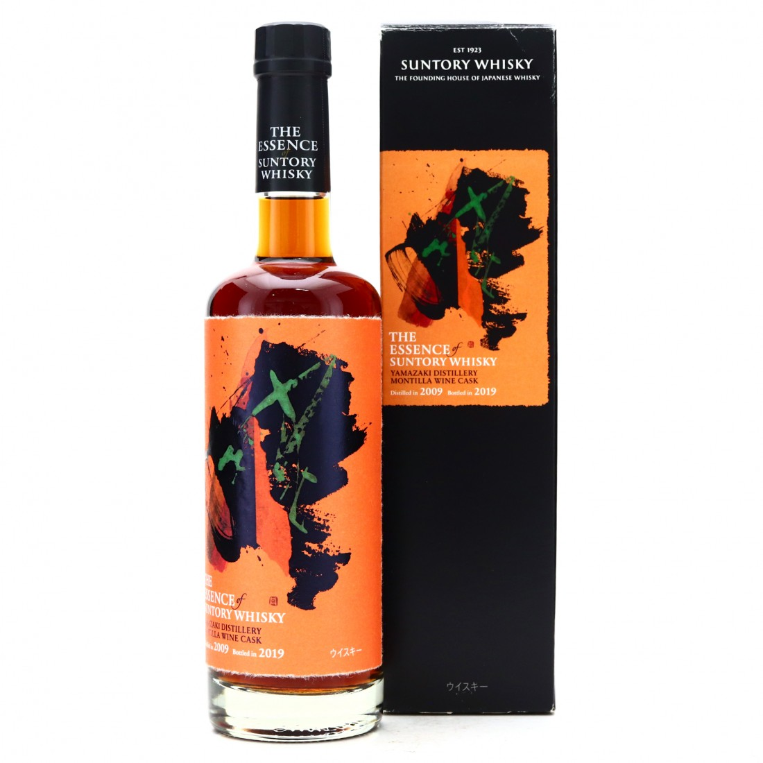Yamazaki 2009 Montilla Wine Cask 50cl / The Essence of Suntory