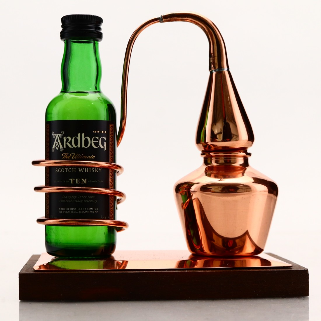 Ardbeg 10 Year Old Miniature / with Copper Still