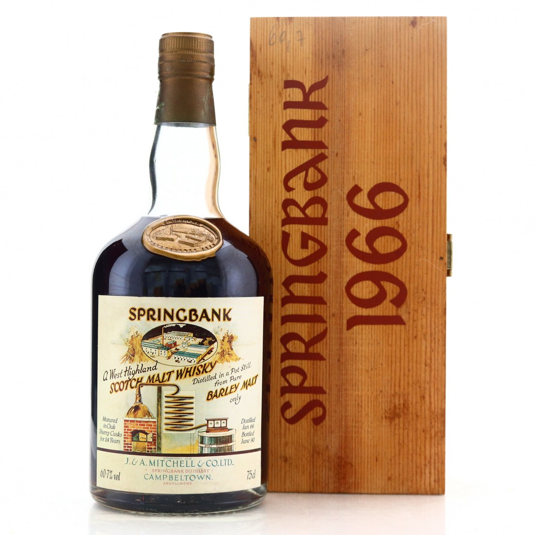 Springbank 1966 Sherry Cask 24 Year Old #441 / Local Barley