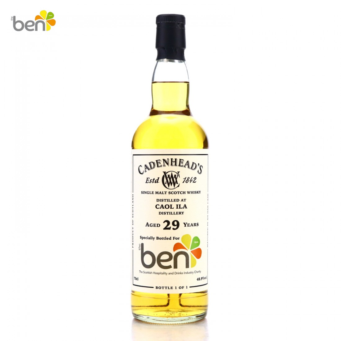 Caol Ila 29 Year Old Cadenhead's for The Ben - Charity Lot