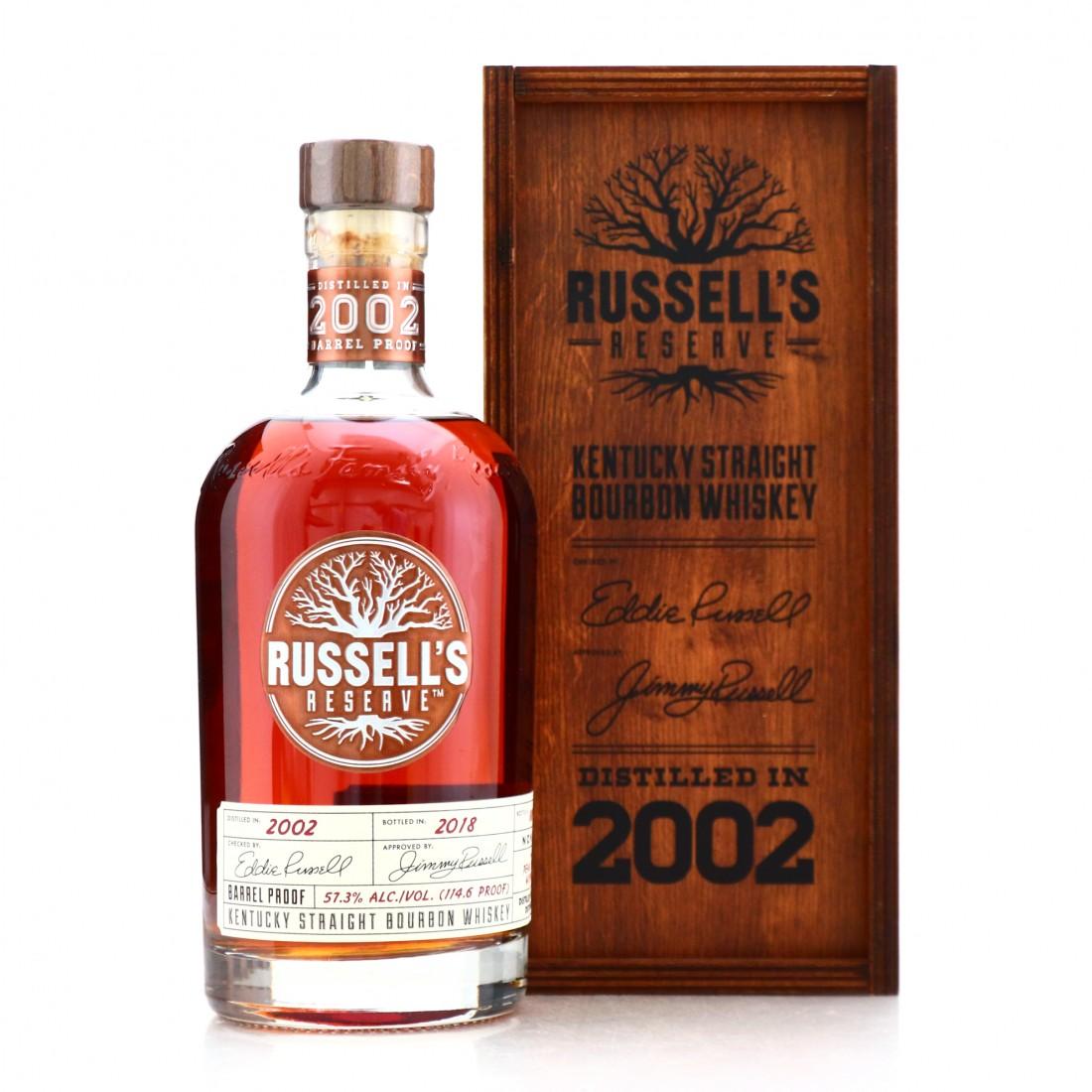 Russell's Reserve 2002 Barrel Proof Kentucky Straight Bourbon