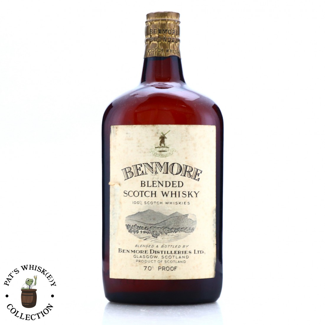 Benmore Scotch Whisky 1950s