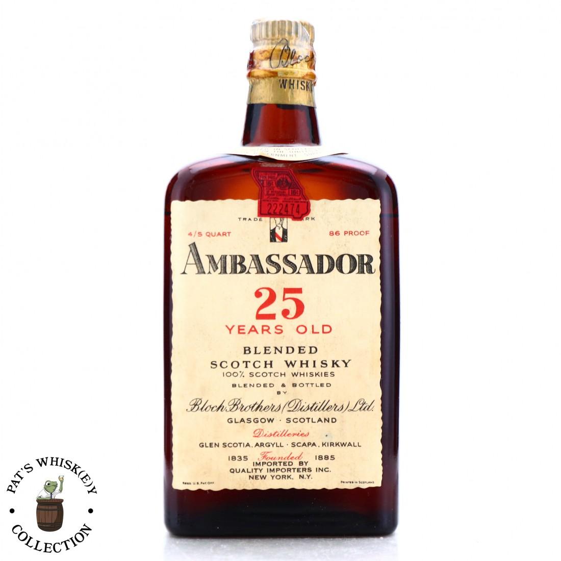 Ambassador 25 Year Old 1950s / US Import