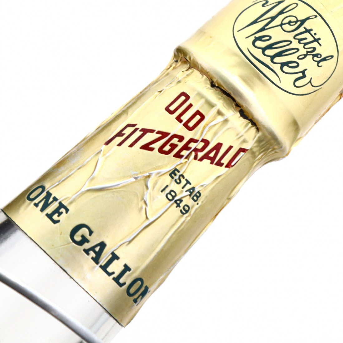 Very Old Fitzgerald 1960 Bottled in Bond 6 Year Old 100 Proof Gallon with Cradle / Stitzel-Weller