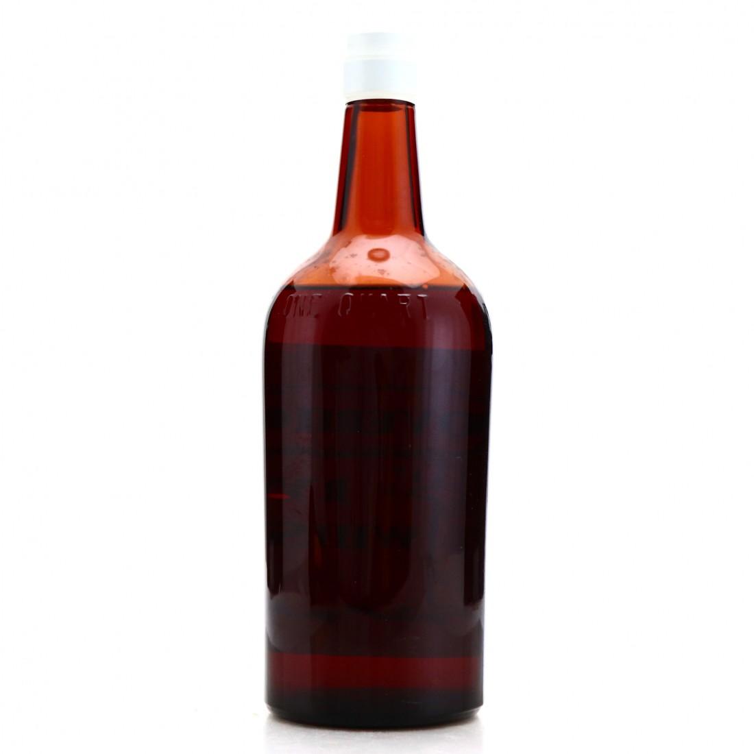 Overholt 1908 Rye Whiskey Quart / Pre-Prohibition